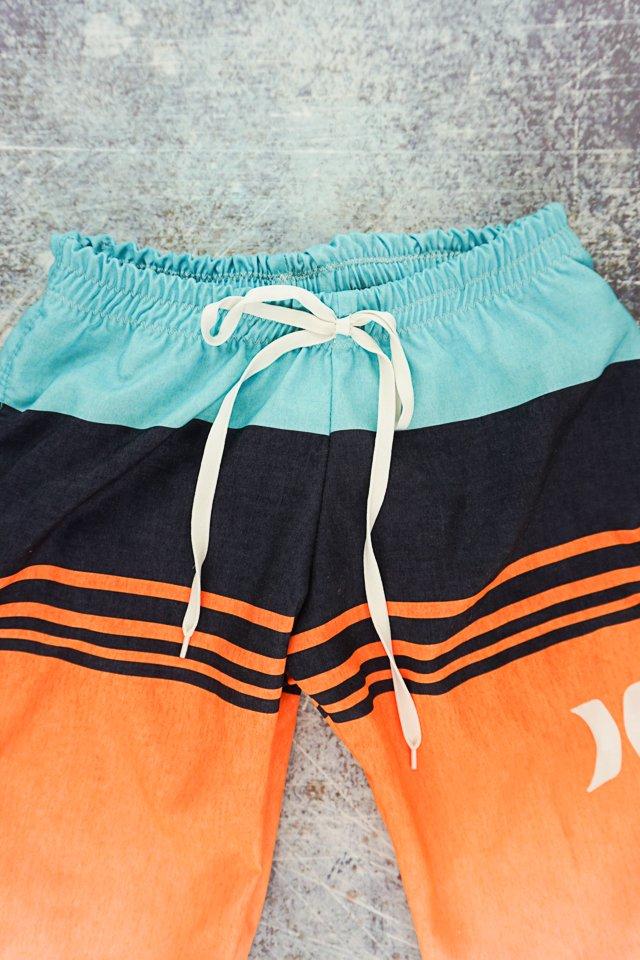 add tie front to new swim trunks