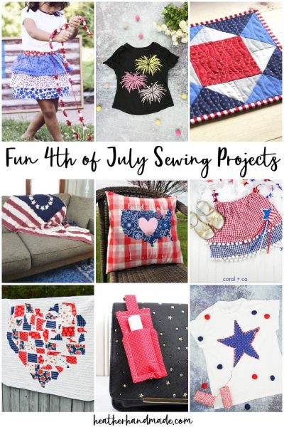 4th of July Sewing Projects