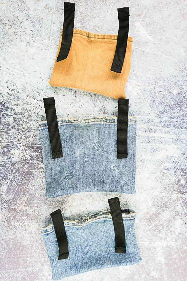sew the straps
