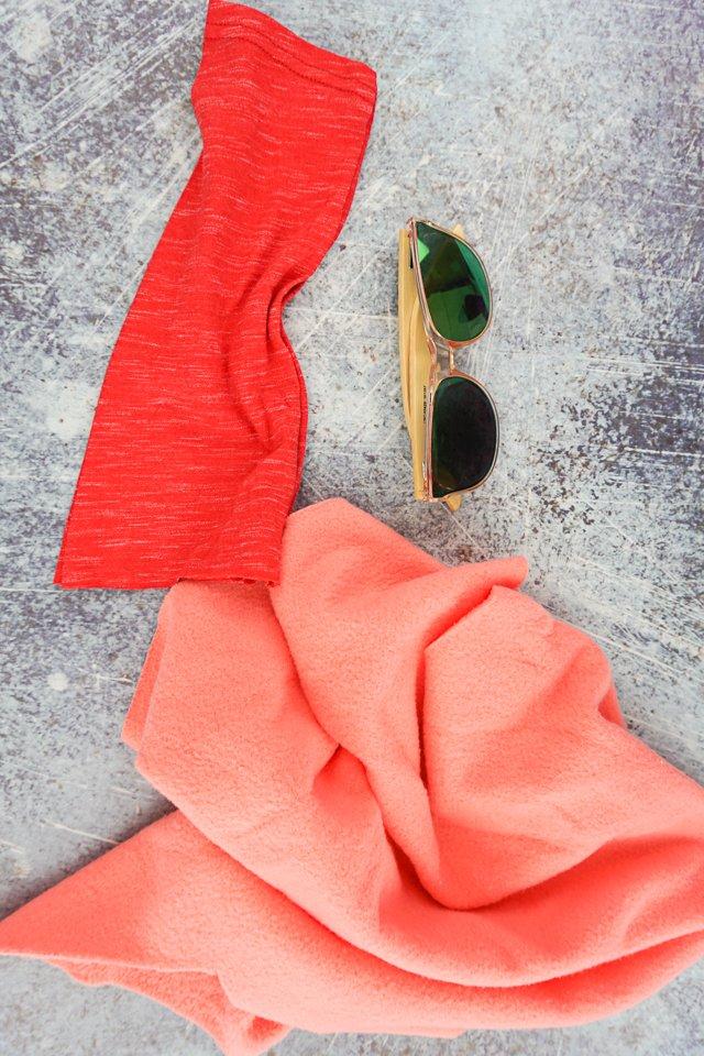 diy sunglasses case supplies