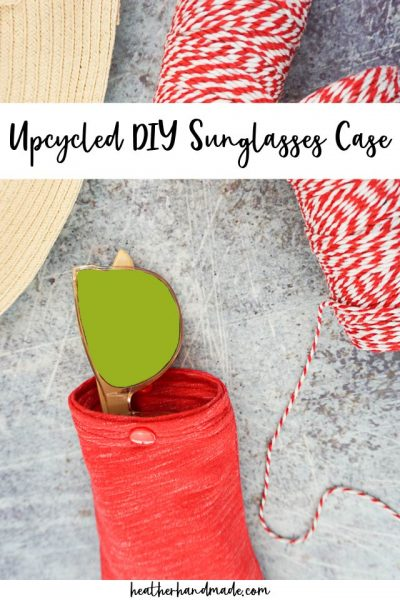 diy sunglasses case