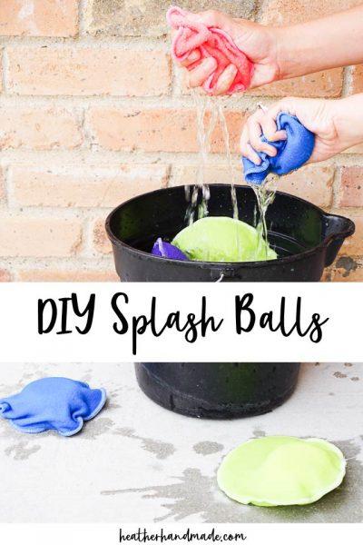 diy splash balls