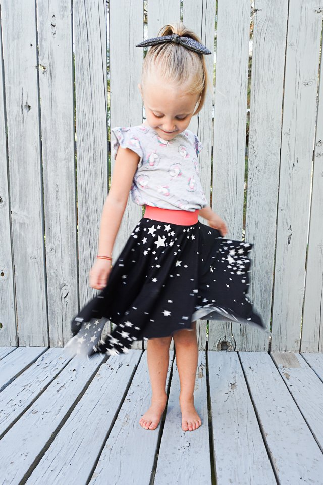 How to Make a Square Hem Circle Skirt