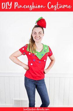 diy pincushion costume
