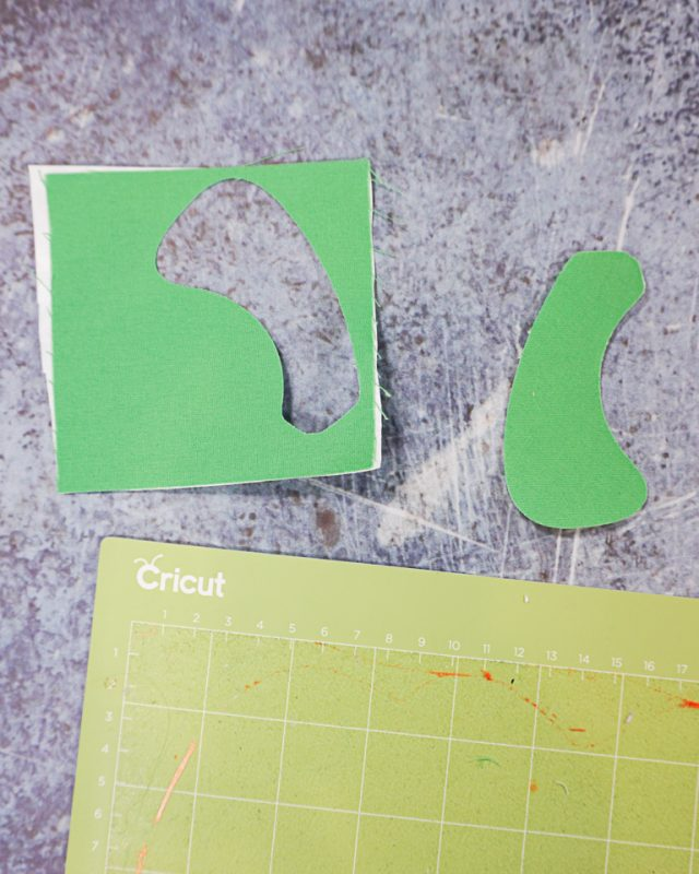 cut out stem and peel