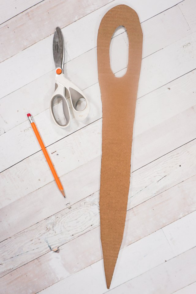 cut giant needle
