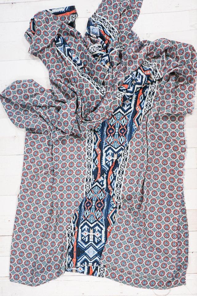 lightweight fabric scarf