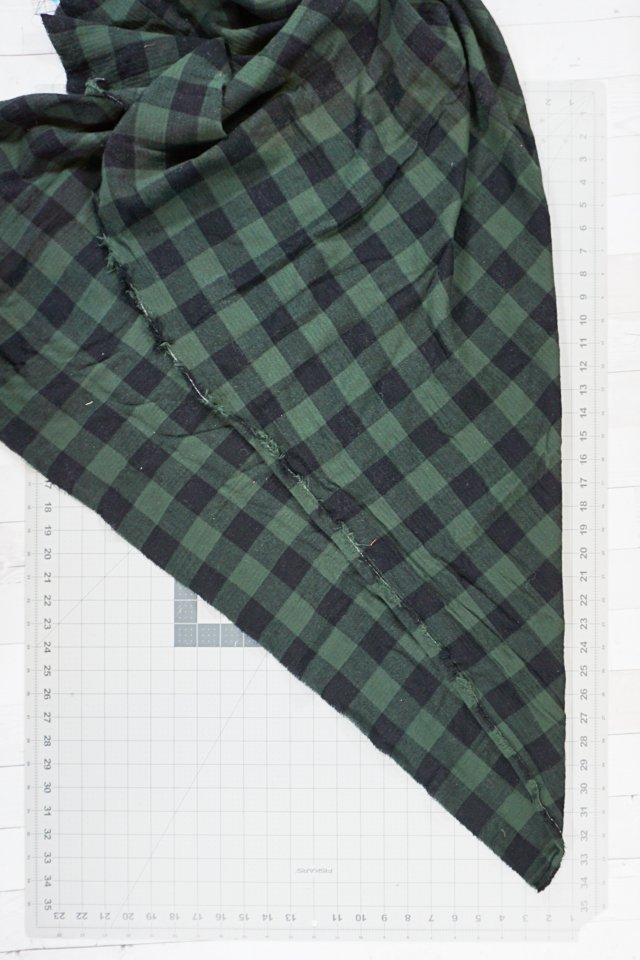 cut square of fabric