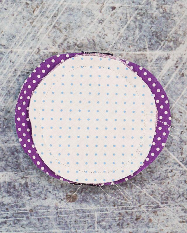 sew around circle