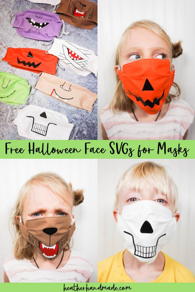 Free Halloween Face SVGs for Masks