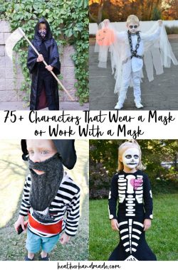 75+ Characters That Wear a Mask or Work With a Mask