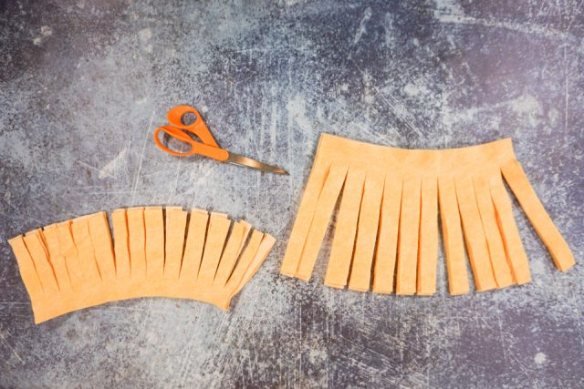 cut rectangles into strips