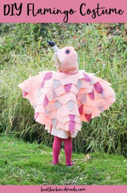 Cute DIY Flamingo Costume