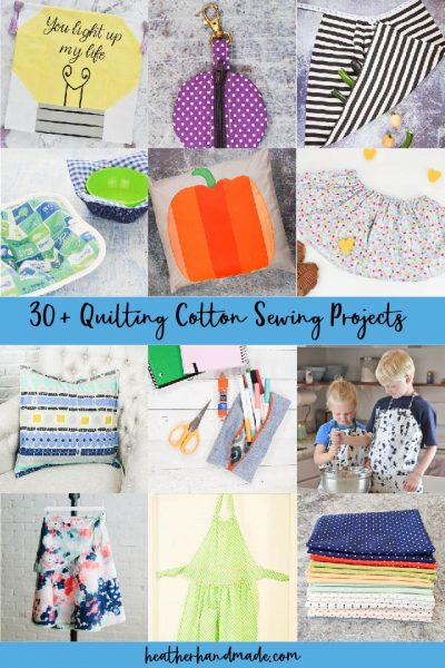 quilting cotton sewing projects