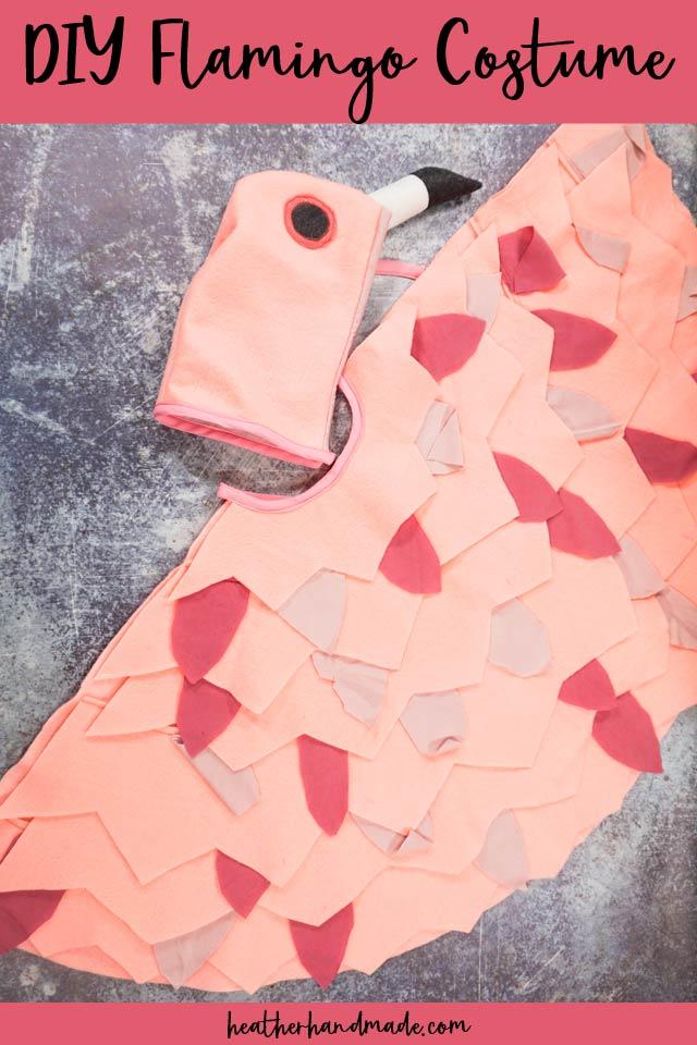 Cute DIY Flamingo Costume