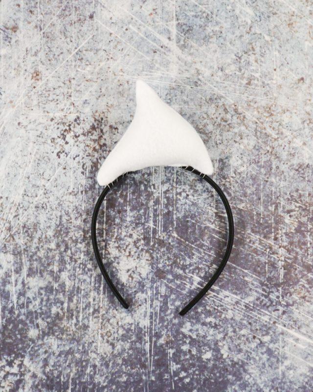 sew top onto headband