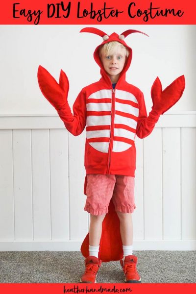 easy diy lobster costume