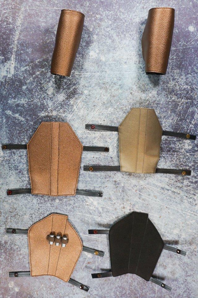 faux leather mandalorian armor