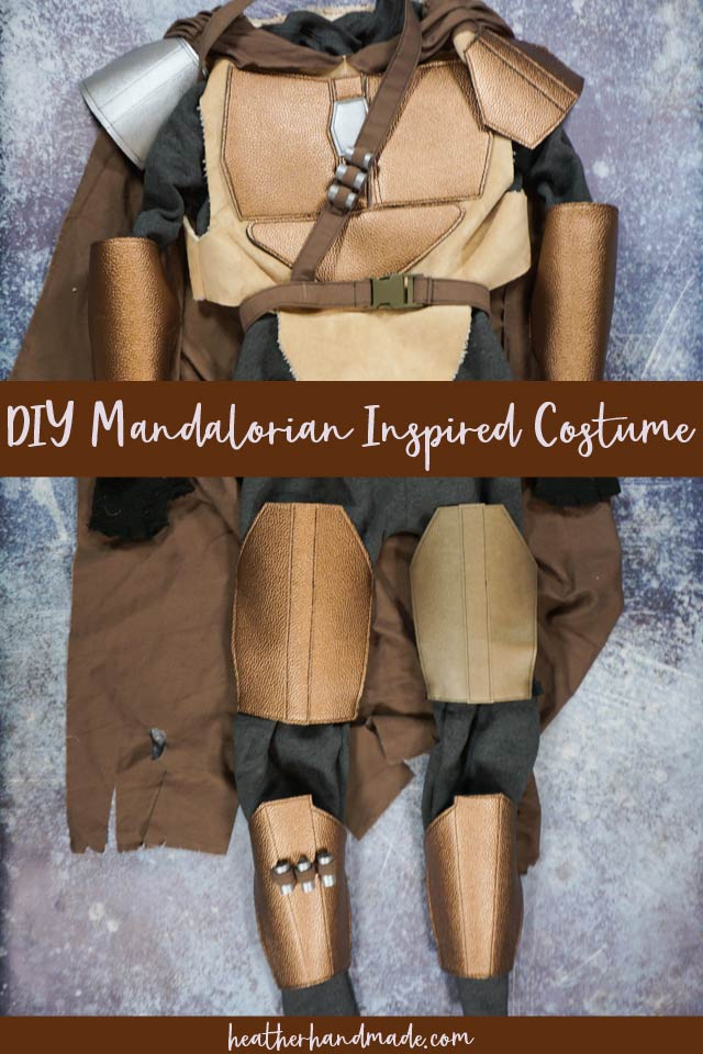 diy mandalorian inspired costume