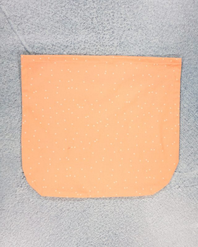 fold top down twice and topstitch