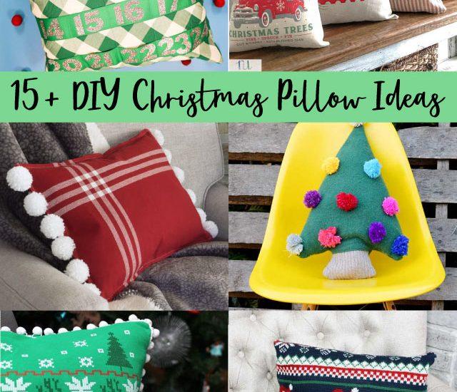 diy christmas pillow ideas