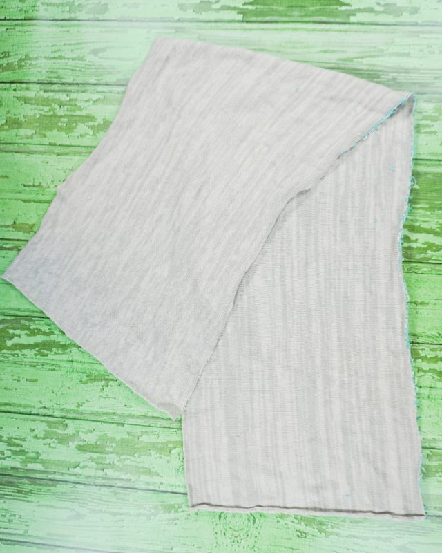 cut sweater rectangle