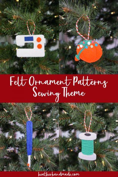 felt ornament patterns
