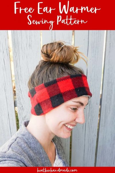 free ear warmer sewing pattern