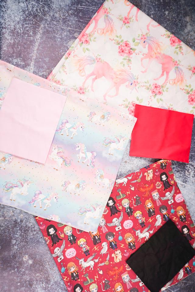 make pillowcase supplies fabric