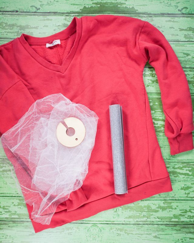 DIY Cute Ugly Christmas Sweater supplies