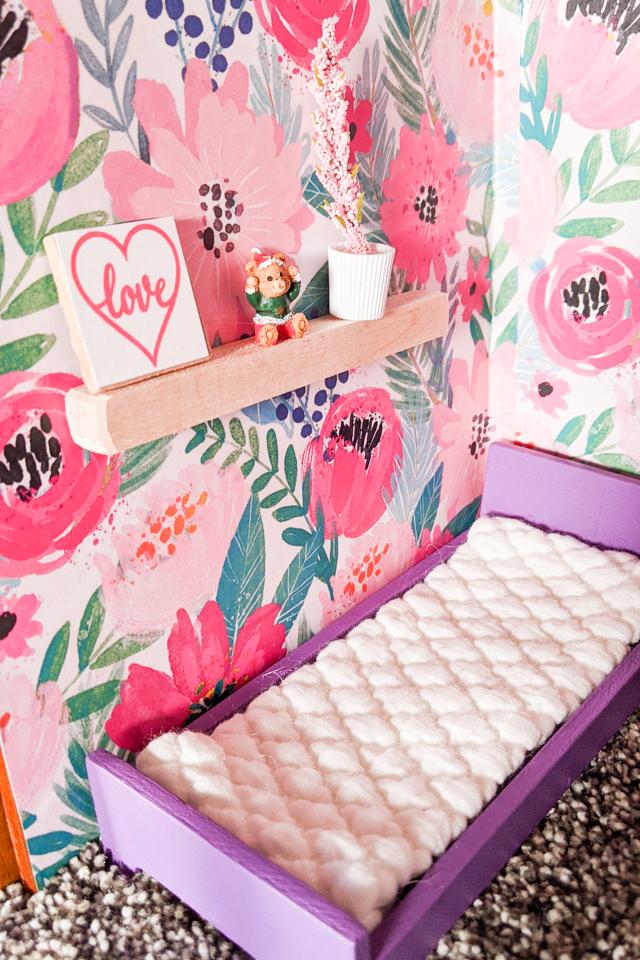 kid bedroom details