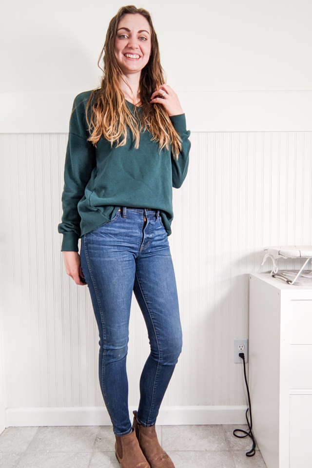 no sew crop sweatshirt