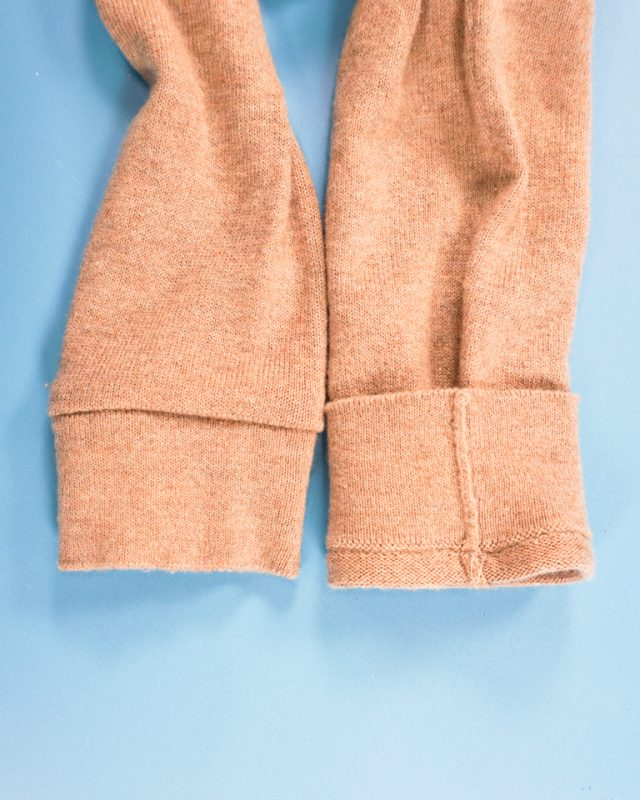 remove any excess seam allowance