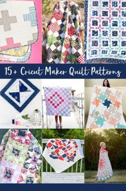 cricut maker quilt patterns
