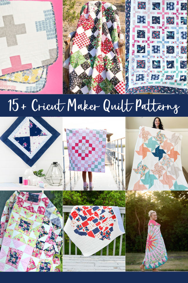 cricut maker quilt patterns