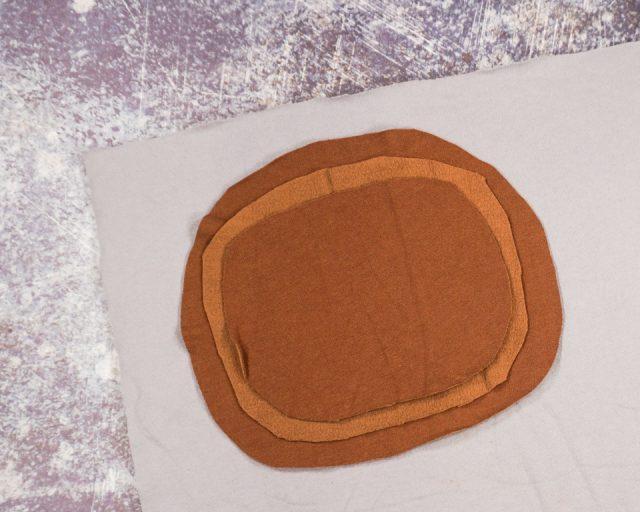 pin three circles layered