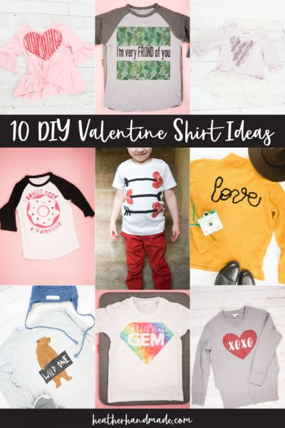 diy valentine shirt ideas