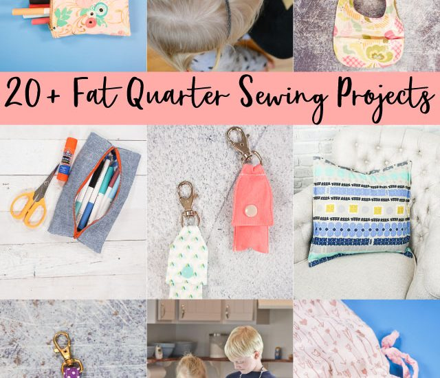 fat quarter sewing projects