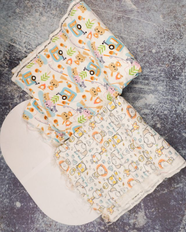 baby burp cloth supplies