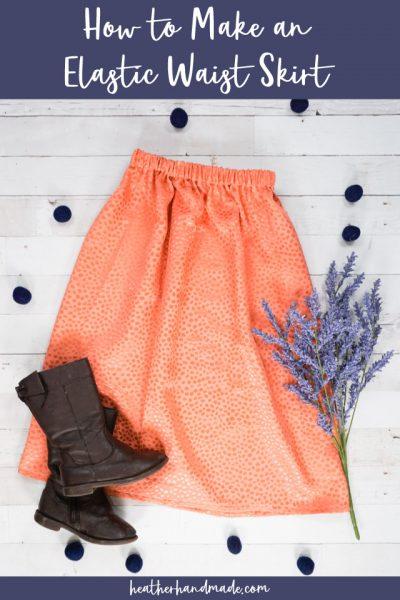 How to Make an Elastic Waist Skirt