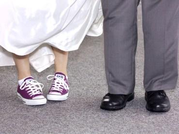 Love those purple converse!