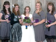 Meet the bridesmaids and maid of honor..