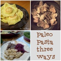 Paleo Pasta Three Ways