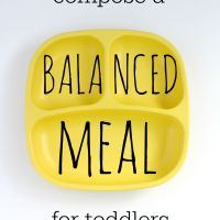 How to compose a balanced toddler meal (and a Replay Giveaway!)