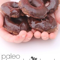 Paleo and AIP Chocolate Mini Donuts