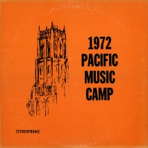 1972 Pacific Music Camp