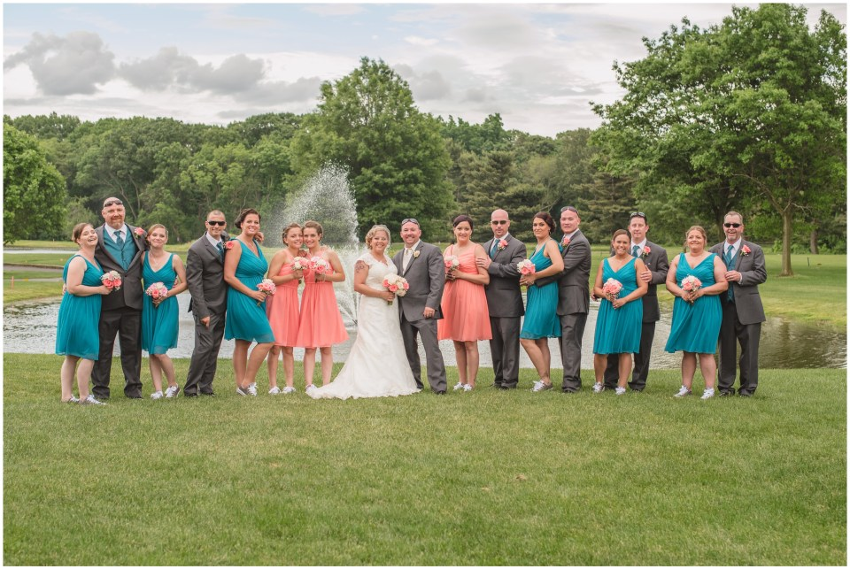 pennsauken country club, wedding, bridal portraits, family formals