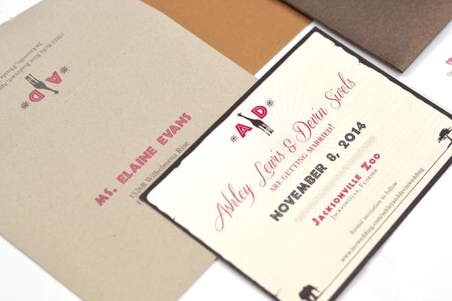 Wedding Invitations Jacksonville Fl Mini Bridal