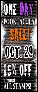 one day spooktacular sale - stamping up