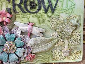 grow journal close up